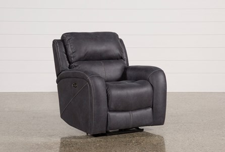 Display product reviews for DEEGAN CHARCOAL POWER RECLINER