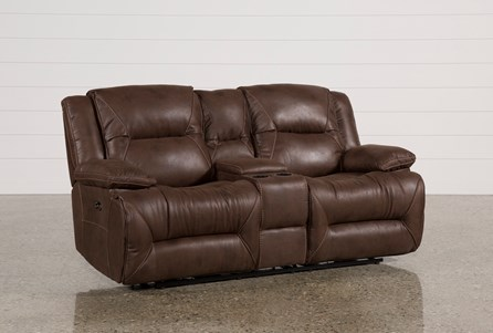 Display product reviews for CALDER BROWN POWER RECLINING LOVESEAT W/CONSOLE
