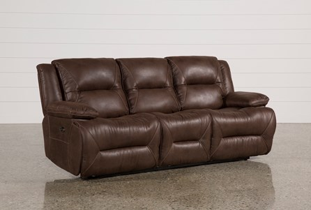 Display product reviews for CALDER BROWN POWER RECLINING SOFA