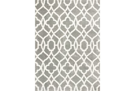 Display product reviews for 63X91 RUG-REECE TRELLIS GREY