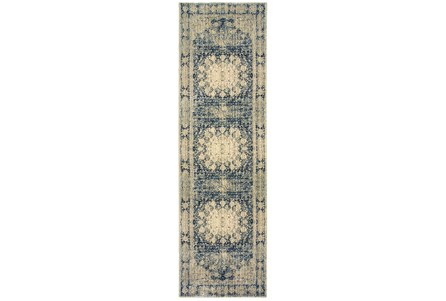 Display product reviews for 27X90 RUG-MERICK WASHED DENIM