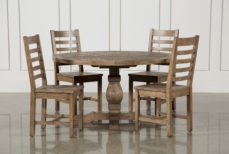 Display product reviews for KIT-CADEN 5 PIECE ROUND DINING SET