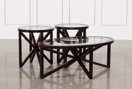 Display product reviews for LARK 3 IN 1 PACK TABLES
