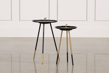 Display product reviews for 2 PIECE SET STELLA ACCENT TABLES