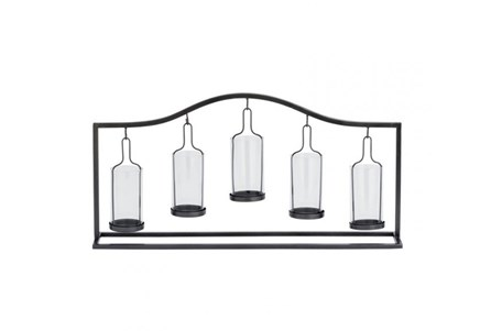 Display product reviews for METAL GLASS 5-VOTIVE HOLDER