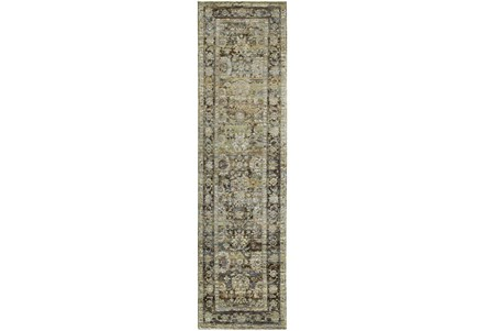 Display product reviews for 27X96 RUG-MARIAM MOROCCAN OLIVE