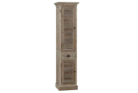 Display product reviews for OTB NATURAL NARROW SHUTTER CABINET