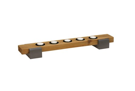 Display product reviews for WOOD METAL 5 VOTIVE CANDLEHOLDER