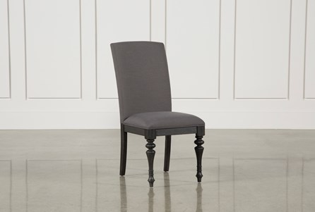 Display product reviews for CAIRA BLACK UPHOLSTERED SIDE CHAIR
