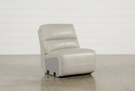 Display product reviews for RENALDO LEATHER ARMLESS RECLINER