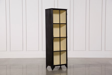Display product reviews for VINTAGE NARROW CURIO CABINET