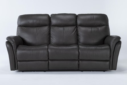 Display product reviews for BOWIE LEATHER POWER RECLINING SOFA W/POWER HEADREST
