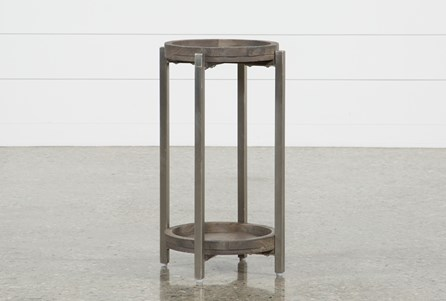 Display product reviews for SWELL ROUND ACCENT TABLE
