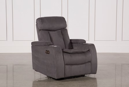 Display product reviews for CELEBRITY STEEL HOME THEATER RECLINER W/POWER HEADREST