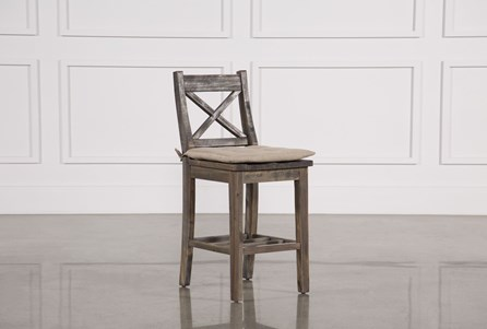 Display product reviews for MALLARD COUNTER STOOL W/CUSHION