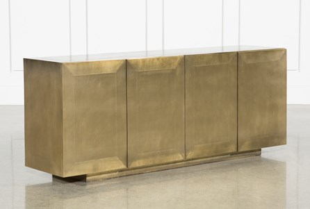 Display product reviews for OTB AGED BRASS SIDEBOARD
