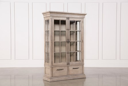 curio cabinets for your dining room living spaces