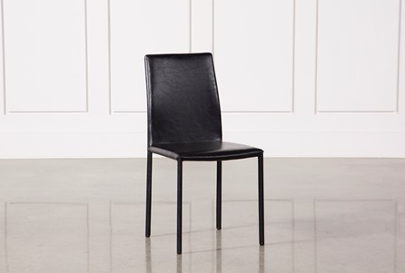 Display product reviews for HAYDEN BLACK SIDE CHAIR