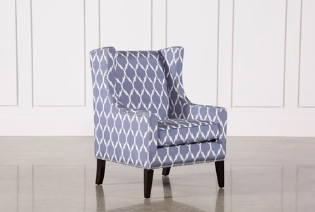 Display product reviews for CABOT BLUE ACCENT CHAIR