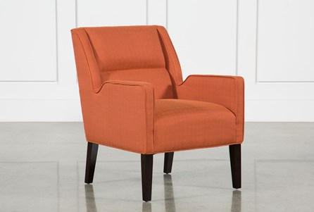 Display product reviews for REID ORANGE ACCENT CHAIR