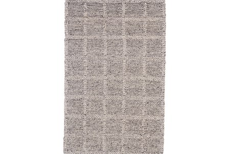 Display product reviews for 60X96 RUG-GREY TEXTURED WOOL GRID