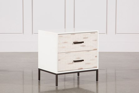 Display product reviews for ELDEN 2-DRAWER NIGHTSTAND