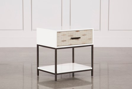 Display product reviews for ELDEN 1-DRAWER NIGHTSTAND