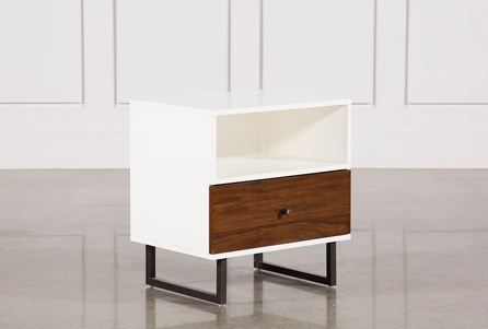 Display product reviews for CLARK 1-DRAWER NIGHTSTAND