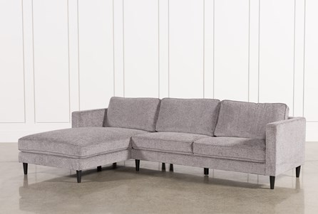 Display product reviews for KIT-COSMOS GREY 2 PIECE SECTIONAL W/LAF CHAISE