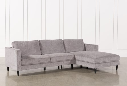 Display product reviews for KIT-COSMOS GREY 2 PIECE SECTIONAL W/RAF CHAISE