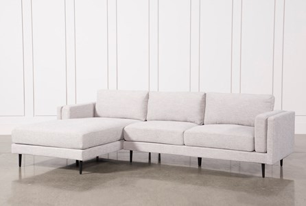 Display product reviews for KIT-AQUARIUS LIGHT GREY 2 PIECE SECTIONAL W/LAF CHAISE