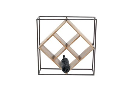 Display product reviews for 19 INCH MIXED MEDIA WINE RACK