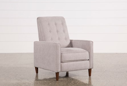 Display product reviews for DARCY PUMICE HIGH LEG RECLINER