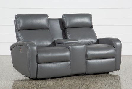 Display product reviews for DARWIN GRAPHITE POWER RECLINING LOVESEAT W/CONSOLE