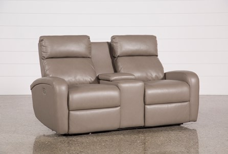 Display product reviews for DARWIN TAUPE POWER RECLINING LOVESEAT W/CONSOLE
