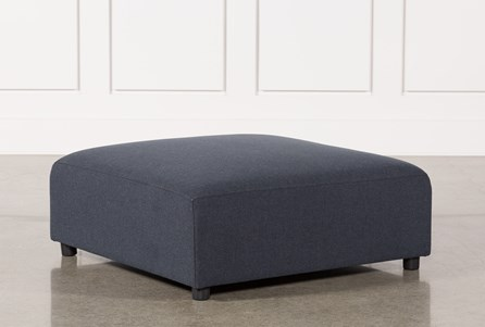 Display product reviews for CLAYTON DARK GREY OTTOMAN