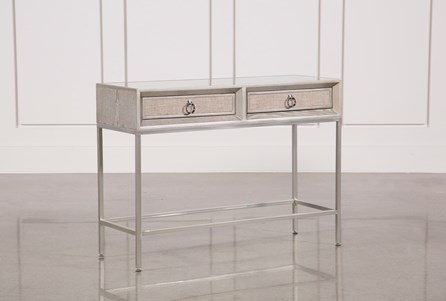 Display product reviews for WOOD AND METAL CONSOLE TABLE