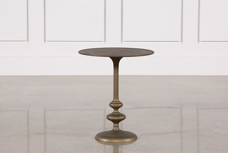 Display product reviews for LILY PEDESTAL ACCENT TABLE