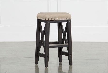 Display product reviews for JAXON UPHOLSTERED BARSTOOL