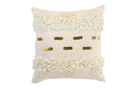 Display product reviews for ACCENT PILLOW-IVORY BOHEMIAN RUFFLE 22X22