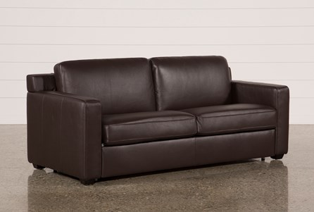 Display Product Reviews For Nolan Leather Brown Sleeper