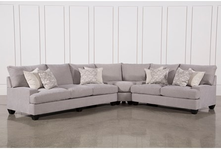 Display product reviews for KIT-HARPER DOWN 3 PIECE SECTIONAL