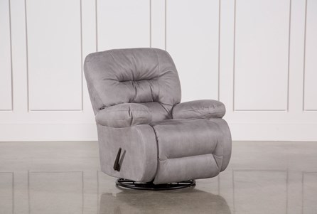 Display product reviews for DECKER II FABRIC SWIVEL GLIDER RECLINER