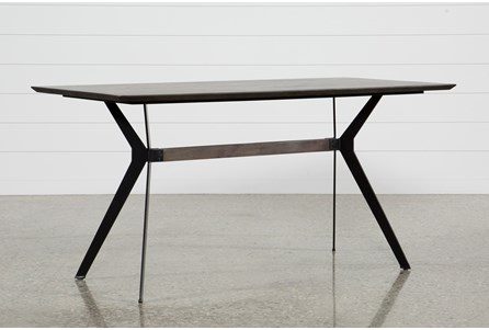 Display product reviews for KIT-WEAVER DARK COUNTER TABLE