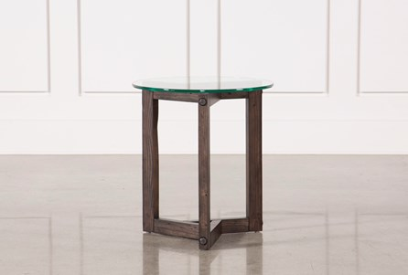 Display product reviews for KIT-RIKER ROUND END TABLE