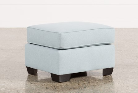 Display product reviews for RAPHAEL II MOONSTONE OTTOMAN