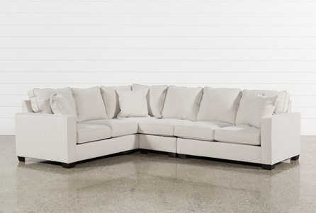 Display product reviews for KIT-RAPHAEL II FLAX 3 PIECE SECTIONALW/RAF LOVESEAT