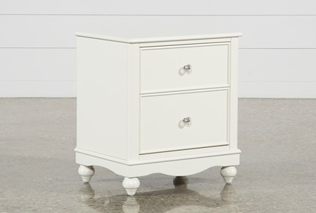 Display product reviews for MADISON WHITE 2-DRAWER NIGHTSTAND