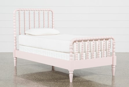 Display product reviews for KIT-MADISON PINK TWIN SPINDLE PANEL BED