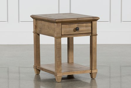Display product reviews for MARKET END TABLE